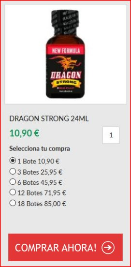 Poppers Dragon Strong